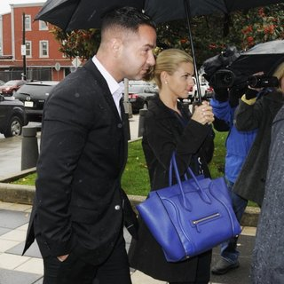 The Situation, Lauren Pesce in The Situation Arrives at Newark's Federal Court