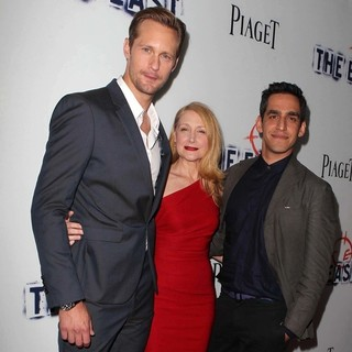Alexander Skarsgard, Patricia Clarkson, Zal Batmanglij in Los Angeles Premiere of The East