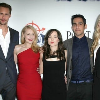 Alexander Skarsgard, Patricia Clarkson, Ellen Page, Zal Batmanglij, Brit Marling in Los Angeles Premiere of The East