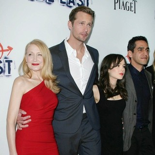 Alexander Skarsgard, Patricia Clarkson, Ellen Page, Zal Batmanglij in Los Angeles Premiere of The East