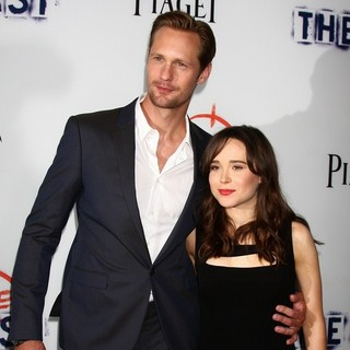 Alexander Skarsgard, Ellen Page in Los Angeles Premiere of The East