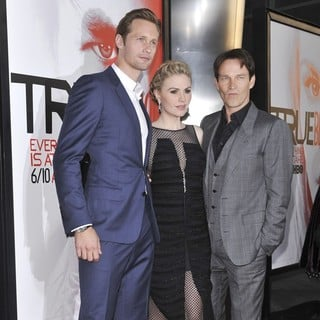 Alexander Skarsgard, Anna Paquin, Stephen Moyer in Los Angeles Premiere for The Fifth Season of HBO's Series True Blood - Arrivals