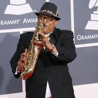 Ski Johnson in 54th Annual GRAMMY Awards - Arrivals