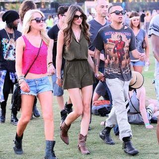 Celebrities at The 2012 Coachella Valley Music and Arts Festival - Week 2 Day 1