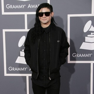 Skrillex in 55th Annual GRAMMY Awards - Arrivals