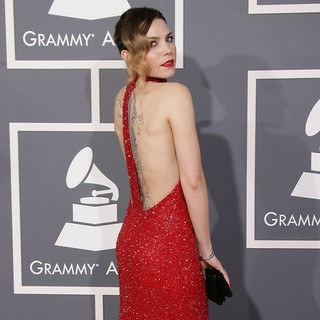 Skylar Grey in 55th Annual GRAMMY Awards - Arrivals