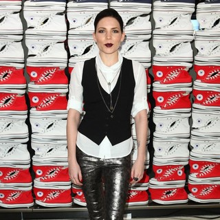 Skylar Grey in Converse West Coast Flaship Opening