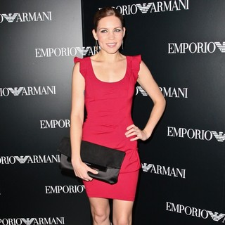 Skylar Grey in Mercedes-Benz New York Fashion Week Spring-Summer 2013 - Emporio Armani - Party