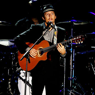 Jason Mraz in Andre Agassi Grand Slam For Children Concert