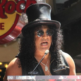 Slash in Slash Honored with A Star on The Hollywood Walk of Fame
