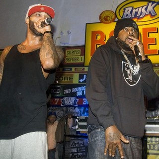 BRISK Bodega Private Shady Records Artists Performance: Yelawolf and Slaughterhouse