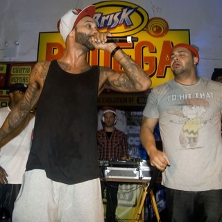 Joe Budden in BRISK Bodega Private Shady Records Artists Performance: Yelawolf and Slaughterhouse - slaughterhouse-brisk-bodega-private-shady-records-artists-performance-03