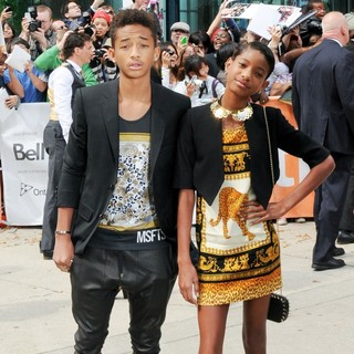 Jaden Smith, Willow Smith in 2012 Toronto Film Festival - Free Angela and All Political Prisoners Premiere