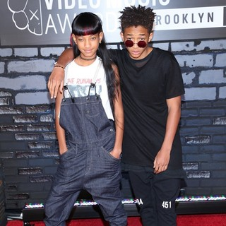 Willow Smith, Jaden Smith in 2013 MTV Video Music Awards - Arrivals