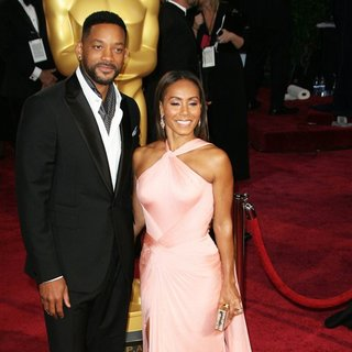 Will Smith, Jada Pinkett Smith in The 86th Annual Oscars - Red Carpet Arrivals