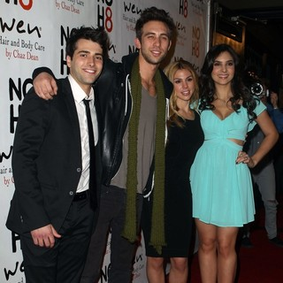 Freddie Smith, Blake Berris, Kate Mansi, Camila Banus in NOH8 Celebrity Studded 4th Anniversary Party - Arrivals