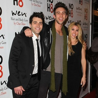 Freddie Smith, Blake Berris, Kate Mansi in NOH8 Celebrity Studded 4th Anniversary Party - Arrivals