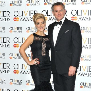 Sheridan Smith, Hugh Bonneville in The Olivier Awards 2013 - Press Room