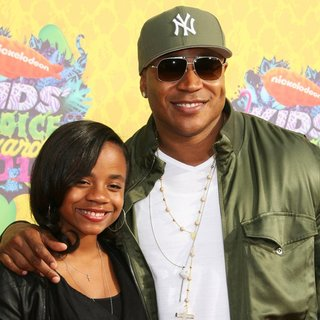 Nina Simone Smith, LL Cool J in Nickelodeon's 27th Annual Kids' Choice Awards - Arrivals