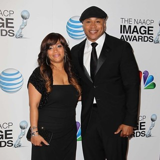 Simone I. Smith, LL Cool J in The 44th NAACP Image Awards
