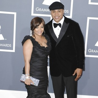 Simone I. Smith, LL Cool J in 54th Annual GRAMMY Awards - Arrivals