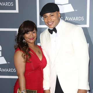 Simone I. Smith, LL Cool J in 55th Annual GRAMMY Awards - Arrivals