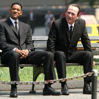 Will Smith - Shooting on Location for Men in Black 3