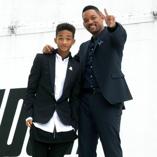 Jaden Smith, Will Smith in Russian Photocall for After Earth