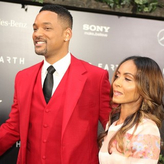 Will Smith, Jada Pinkett Smith in New York Premiere of After Earth