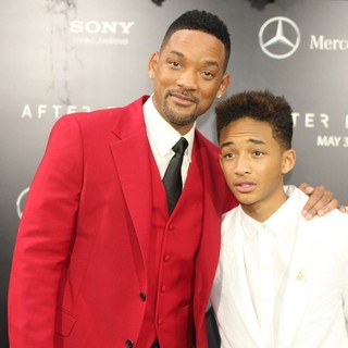 Will Smith, Jaden Smith in New York Premiere of After Earth