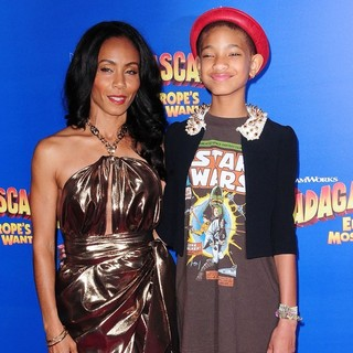 Jada Pinkett Smith, Willow Smith, Jaden Smith in New York Premiere of Dreamworks Animation's Madagascar 3: Europe's Most Wanted