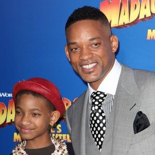 Willow Smith, Will Smith in New York Premiere of Dreamworks Animation's Madagascar 3: Europe's Most Wanted