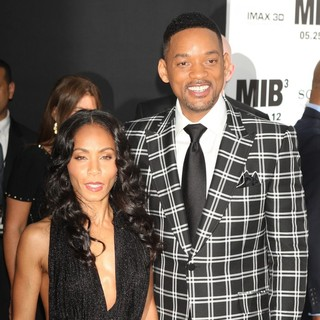 Jada Pinkett Smith, Will Smith in Men in Black 3 New York Premiere - Arrivals
