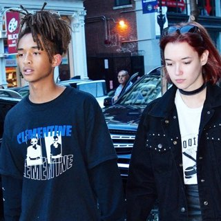 Jaden Smith, Sarah Snyder in Jaden Smith and Sarah Snyder Hold Hands