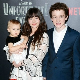 Presley Smith, Malina Weissman, Louis Hynes-Lemony Snicket's A Series of Unfortunate Events Screening - Red Carpet