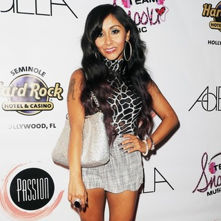 Snooki in Snooki at Passion Nightclub Seminole Paradise