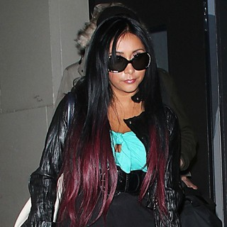 Snooki at VH1's Morning Buzz to Promote Her Reality Show Snooki and JWoww