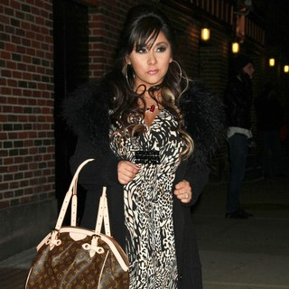 Snooki in The Late Show with David Letterman - Arrivals