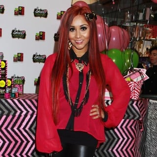 Snooki in Snooki Attends The Launch of Her Fragrance Snooki Couture