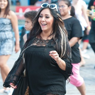 Snooki Out and About in Seaside