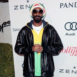 Snoop Dogg in The Hollywood Reporter's Nominees' Night