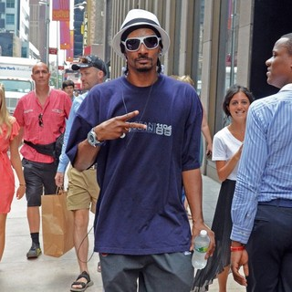 Snoop Dogg in Snoop Dogg Seen Out and About in Manhattan