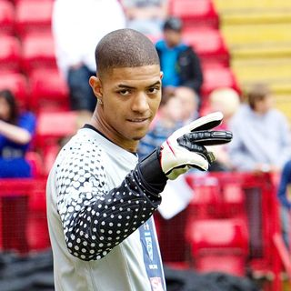 Fazer, N-Dubz in 2010 Soccer Six Tournament at Charlton Athletic Football Club