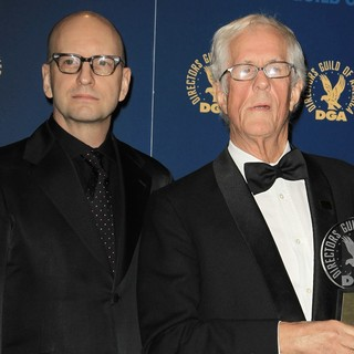 Steven Soderbergh, Michael Apted in 65th Annual Directors Guild of America Awards - Press Room