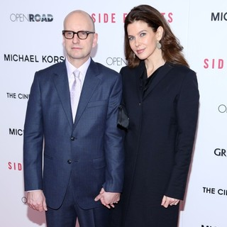 Steven Soderbergh, Jules Asner in New York Premiere of Side Effects