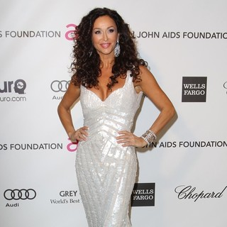 Sofia Milos in 21st Annual Elton John AIDS Foundation's Oscar Viewing Party