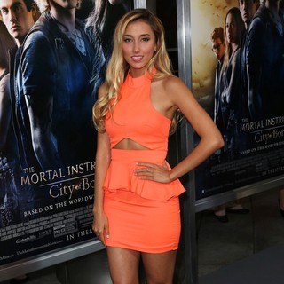 Sofia Sisniega in Premiere of Screen Gems and Constantin Films' The Mortal Instruments: City of Bones
