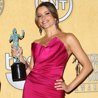 Sofia Vergara in The 18th Annual Screen Actors Guild Awards - Press Room