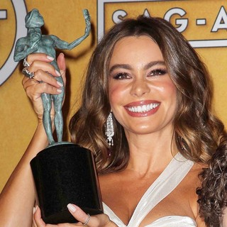Sofia Vergara in 19th Annual Screen Actors Guild Awards - Press Room