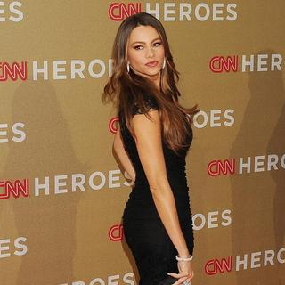 Sofia Vergara in 2011 CNN Heroes: An All-Star Tribute